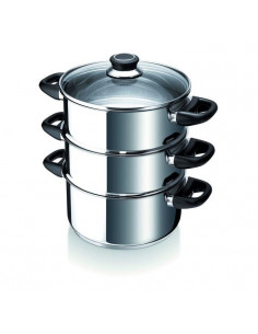 DE BUYER Casserolette a queue Affinity - Inox - Diametre : 9 cm