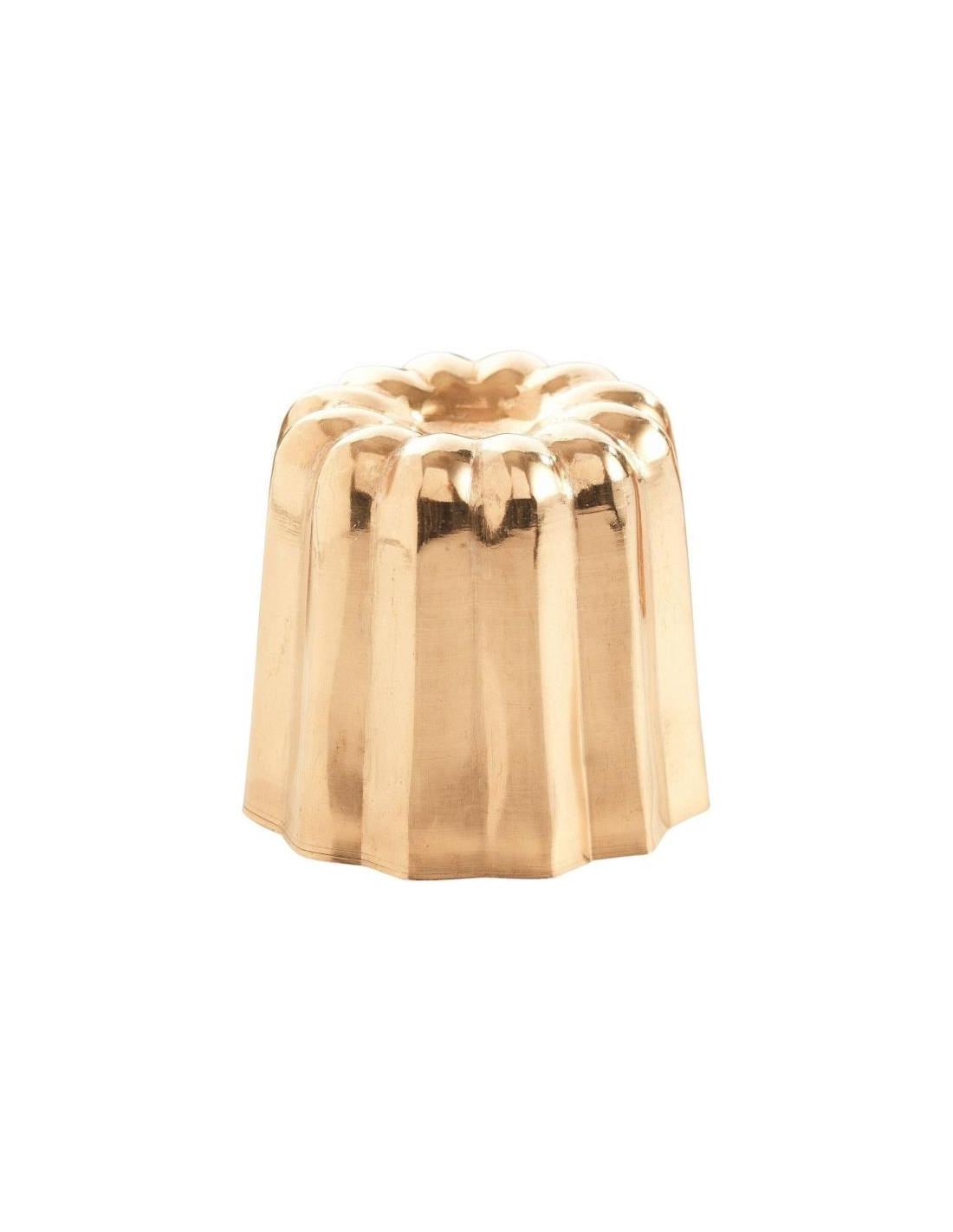 patisse 6 moules a cannel s en cuivre 35 mm. Black Bedroom Furniture Sets. Home Design Ideas