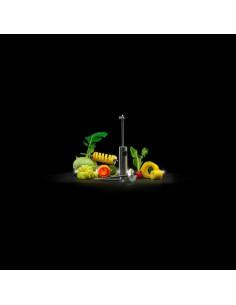 TRUDEAU Support a épices de 8 bouteilles Carroussel 5050407 gris et noir