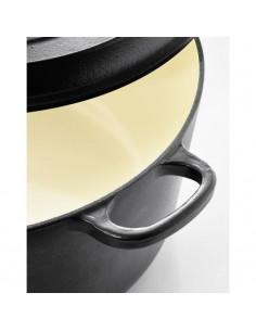 FRANDIS Saladier ř 24 cm Soft touch - Blanc