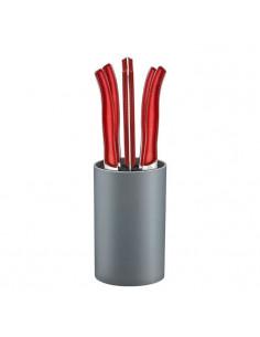 Crachoir ergonomique - Acrylique - Rouge