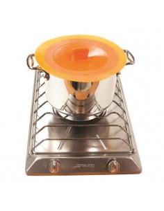 YOKO DESIGN Thermo-sonde de cuisson avec fil blanc et gris
