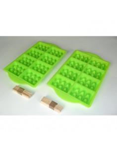 NOVASTYL Positive Break Lot 3 gobelets 30cl - Forme haute - Multicouleur